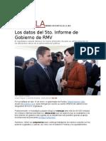 16-01-2016 Uno Noticias - Los Datos Del 5to. Informe de Gobierno de RMV