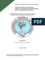 Informe Del Seguimiento a Graduados Acuacultura