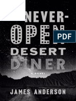 The Never-Open Desert Diner by James Anderson-excerpt