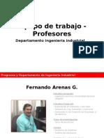 Departamento IND Profesores 2015