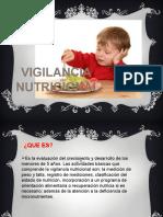 VIGILANCIA NUTRICIONAL