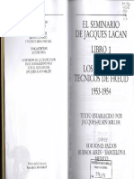 Lacan.el Seminario 1. Los Escritos Técnicos de Freud_opt_opt