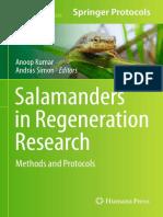 (Methods in Molecular Biology 1290) Anoop Kumar, András Simon (Eds.)-Salamanders in Regeneration Research_ Methods and Protocols