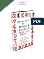 Manual Grátis de Defesas e Recursos de Multas de Trânsito