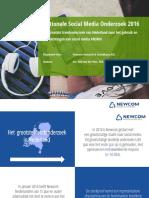 newcom - nationale social media onderzoek 2016