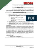 Roteiro de Avaliação Diagnóstico Do Terreno APS e Estudo Preliminar