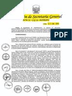 RSG N° 026-2016-MINEDU Norma para contratar acompañantes 2016 y mas (Requisitos)