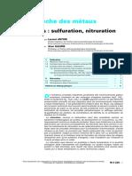 Corrosion Sèche Nitruration