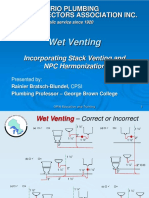 Wet Venting