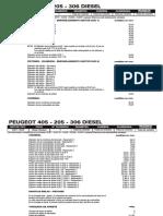 Peugeot 405 - 205 - 306 Diesel