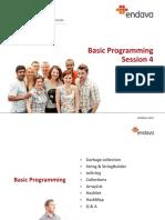 Basic Programming Session 4