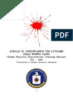 Manuale di addestramento della CIA