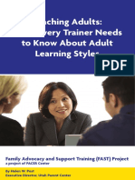 teaching adults-what trainers need to know