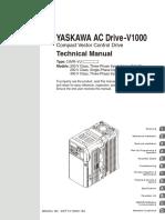 Manual Yaskawa v1000