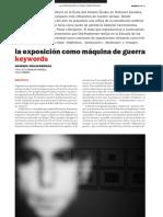 Georges Didi-Huberman_La Exposición Como Máquina de Guerra