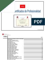 Listado de Certificados