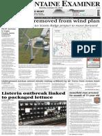 65 Wind Turbines removed