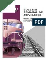 Boletim Semanal de Atividades - 18 a 23-01-2016 - Rev 1