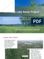 the knapp lake sewer project - updated dec 2015