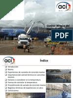 ACI UNI - Control Termico Del Concreto Masivo Junio 2015
