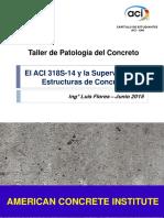 El ACI 318S-14 y La Supervisión de Obras de Concreto UNI
