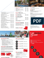 City Card Flyer 2016