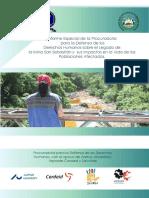 Impactos de Mina San Sebastián en El Salvador
