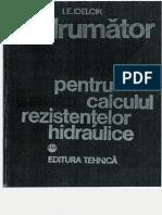 Idelcik - Indrumator Pentru Calculul Rezistentelor Hidraulice