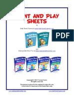 Print and Play Sheets