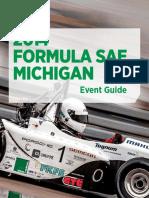 Formula SAE Michigan 2014 Program