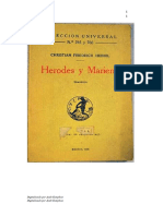 Hebbel, Christian Friedrich - Herodes y Mariene