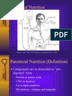 Parenteral Nutrition powerpoint