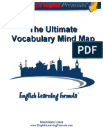 Ultimate vocabulary Mind map