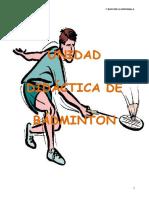 Badminton 1ºBach