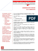 CONVENTION  COLLECTIVE  NATIONALE COMMISSION MIXTE PARITAIRE  DU 21 JANVIER 2016