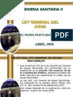 Ley Gral Del Agua