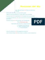 Informe Del 31 de Agosto de 2015