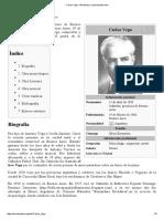 Carlos Vega - Wikipedia, La Enciclopedia Libre