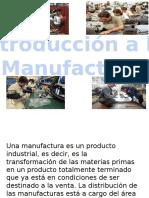 introduccion a la manufactura