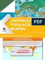 Distrib. da população