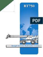 Grove RT750 Crane Brochure