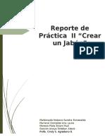 Reporte de Pactica II