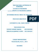 Informe Indice de Langelier