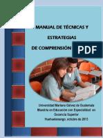 Manual de Técnicas y Estrategias de Comprensión Lectora (1)