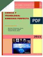 Ciencia y Tecnología Simbiosis Perfecta