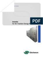 DC Traction Energy Recovery Inverters
