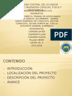 Trabajos en La via Ignacio Lecumberry Sector Conocoto 1.1