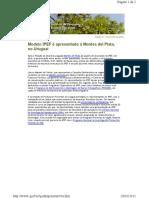 Newsletter - Modelo IPEF é apresentado no Uruguai