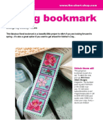 Spring Bookmark 0