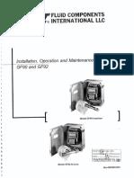 Manual de Transmisores de Dispersion Termica